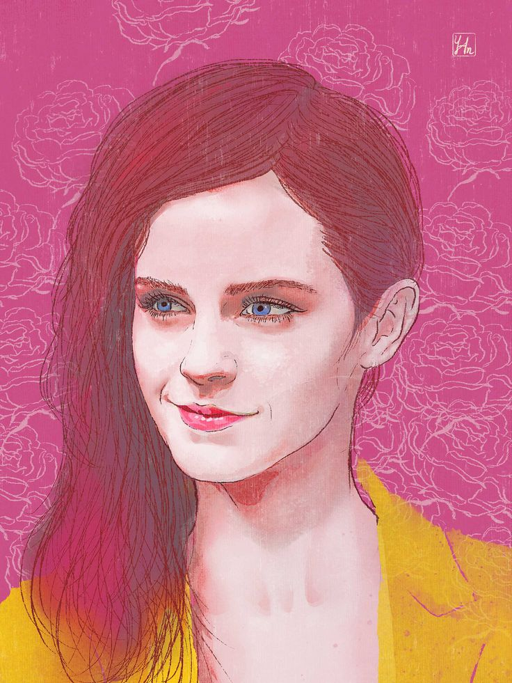 #EmmaWatson #portrait #draw #illustration #illustrator #art #artdirection #creativedirection #designdirection # #design #branding #movie #agency #adagency #film #beautyandthebeast #disney #rose #插畫#台北#nyc #instart #magazine #celebrity #editorial #yuminghuangillustration #hollywood #actress #internationalwomensday