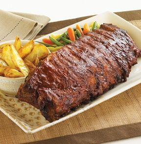 "M&M Meat Shops - ""Fall Off the Bone""® Barbecue Pork Back Ribs"