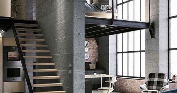 Dwupoziomowe mieszkanie o otwartej przestrzeni. Pokój sypialny jest na piętrze przy ogromnym oknie. Co wy na to?