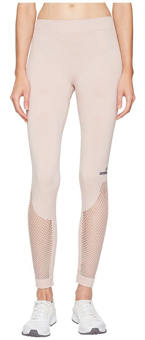 adidas by Stella McCartney The Seamless Mesh Tights BP6836 (New Rose) Women's Workout - adidas by Stella McCartney, The Seamless Mesh Tights BP6836, BP6836-300, Apparel Bottom Workout, Workout, Bottom, Apparel, Clothes Clothing, Gift, - Street Fashion And Style Ideas