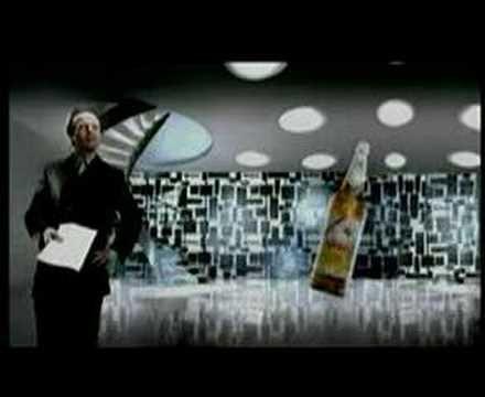 Serie de anuncios para TV Cerveza Isenbeck con tapa a rosca, década del 90