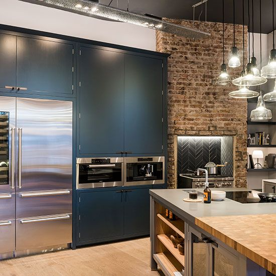 Grey Industrial Kitchen: The 95 Best Grey Kitchens Images On Pinterest
