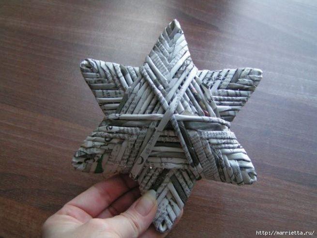 92 best images about riciclo creativo on pinterest - Estrellas de papel para navidad ...