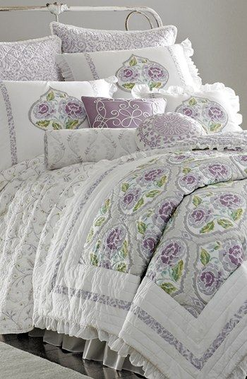 Free shipping and returns on Dena Home 'French Lavender' Comforter at Nordstrom.com. A graceful ruffle adds a touch of romance to a soft comforter in a lovely lavender palette.