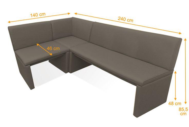 SAM® Esszimmer Eckbank muddy Wunsch x 240 cm FAMILY II MITCHEL Lager ! Clever und günstig ab Fabrik Esszimmer bei Stilartmöbel kaufen.