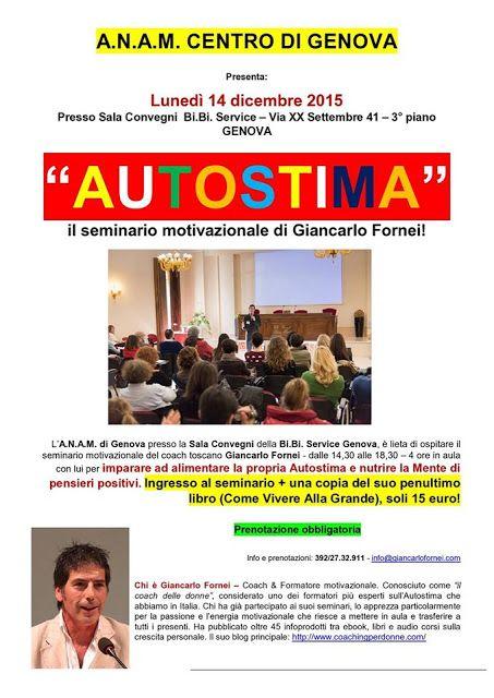 Le conferenze e i seminari motivazionali del coach toscano Giancarlo Fornei!: Un seminario Motivazionale con Giancarlo Fornei a ...