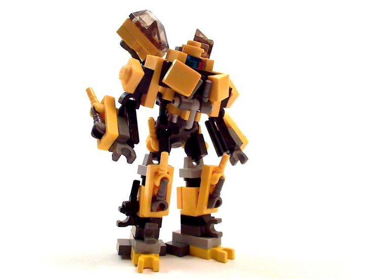 How To Build Junk Robots With Legos
