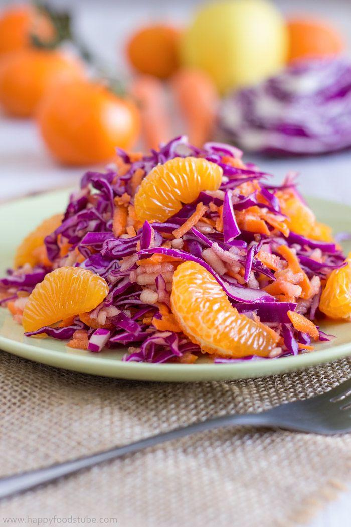 Detox Red Cabbage Salad – Dan330