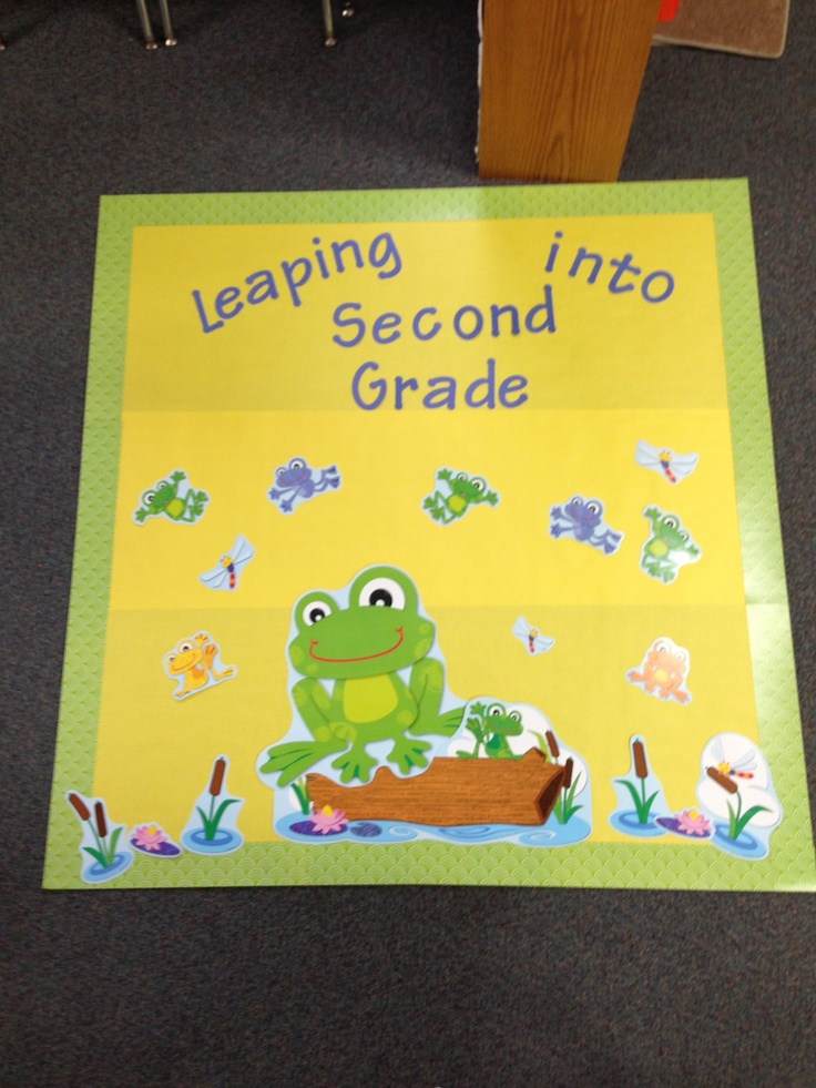 Carson Dellosa's Funky Frog BBD set is a fun way to welcome spring into your classroom or as a way of letting your class know that another year is about to end.  There are so many ways you could use this set in your classroom!  Head to your local school supply store to check it out or go to their website.