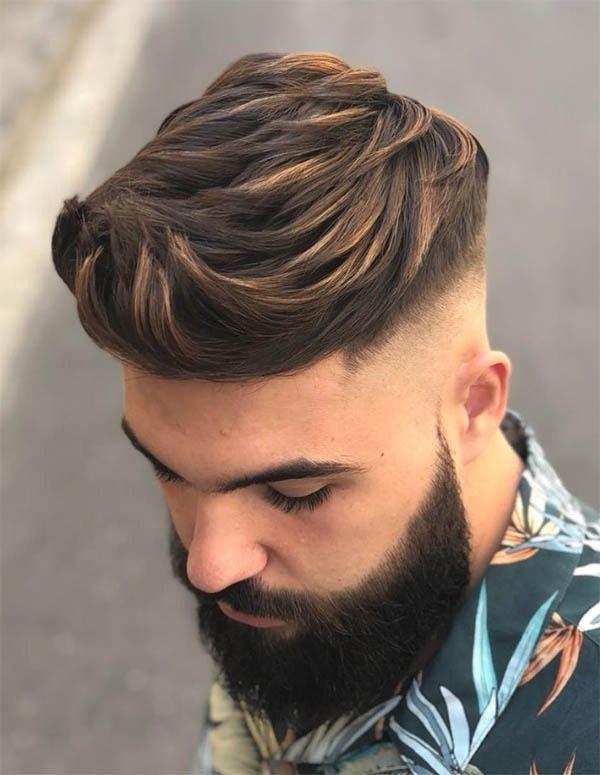 Best Skin Bald Fade Haircut 30 Haircut Styles For Men Men Hair Highlights Men Hair Color Hair Styles
