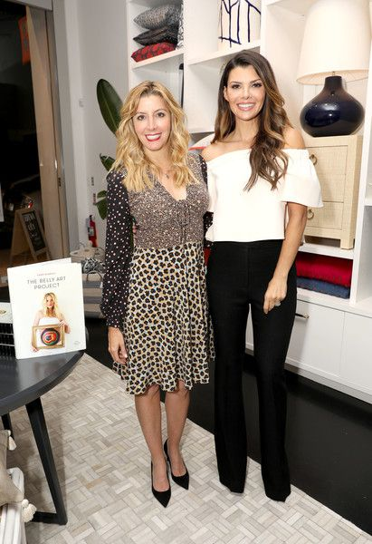 Ali Landry Photos Photos - Sara Blakley, founder of Spanx and the Sara Blakely Foundation (L) and Actress Ali Landry attend Serena & Lily and Sara Blakely celebrate the launch of The Belly Art Project Benefiting Every Mother Counts on October 13, 2016 in Los Angeles, California. - Serena & Lily and Sara Blakely Celebrate the Launch of The Belly Art Project Benefiting Every Mother Counts