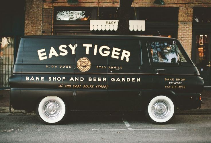 Work by Land for the 'easy tiger' restaurant