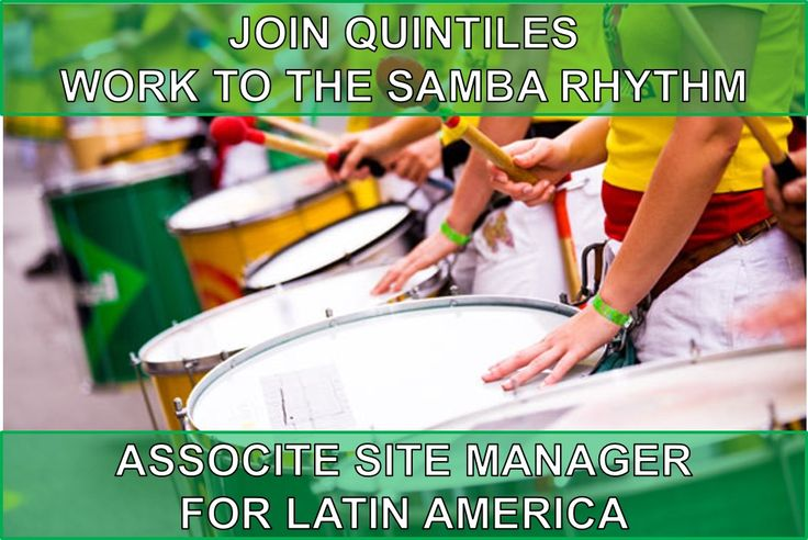 BULGARIA: WORK TO THE SAMBA RHYTHM! Great opportunity for SPANISH speakers to join Quintiles international team helping people become healthier. You will help doctors in Latin America countries to investigate new medicine. To learn more about this job follow attached link or contact me directly via alexandra.sazonova@quintiles.com. OLA!