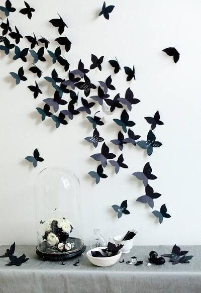 Bekijk de foto van anneja23 met als titel Muurdecoratie vlinders, zelf maken. Zelf maken; op de site staat precies uitgelegd hoe. Kies je eigen kleur, je eigen patroon. Speels. en andere inspirerende plaatjes op Welke.nl.