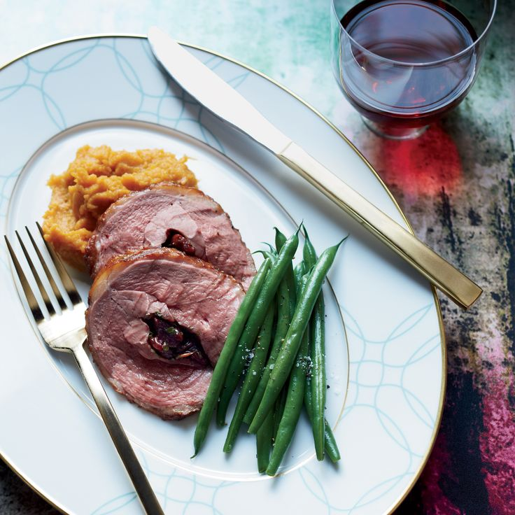 Sour-Cherry-Stuffed Duck Breasts with Thyme | Food & Wine