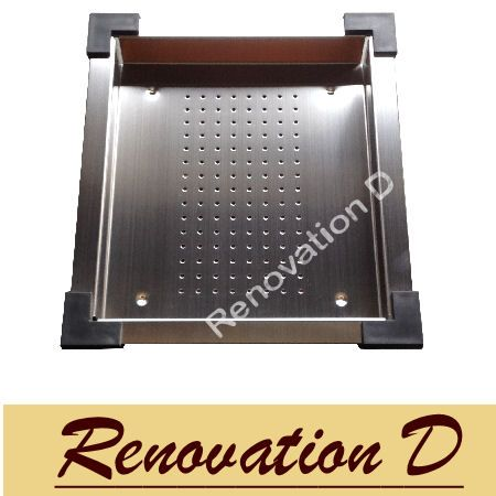 NEW CUBE Stainless Steel Drain LARGE Tray for CUBE Sink - HAND MADE SIN900A --