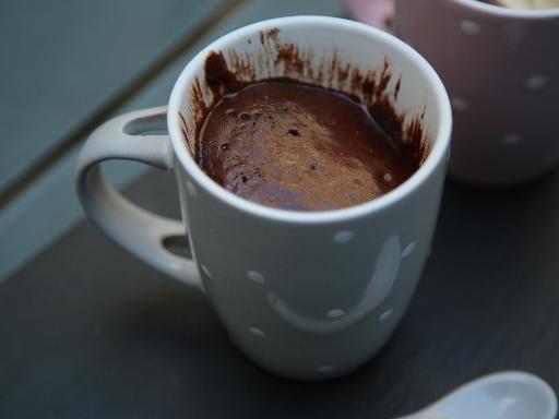Ricetta de Torta alla Nutella in una tazza (mug cake)