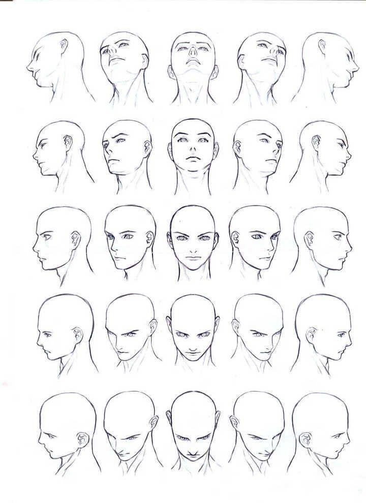 Die Gesichter von Männern und Frauen und menschliche Körper aus verschiedenen … #drawings #art