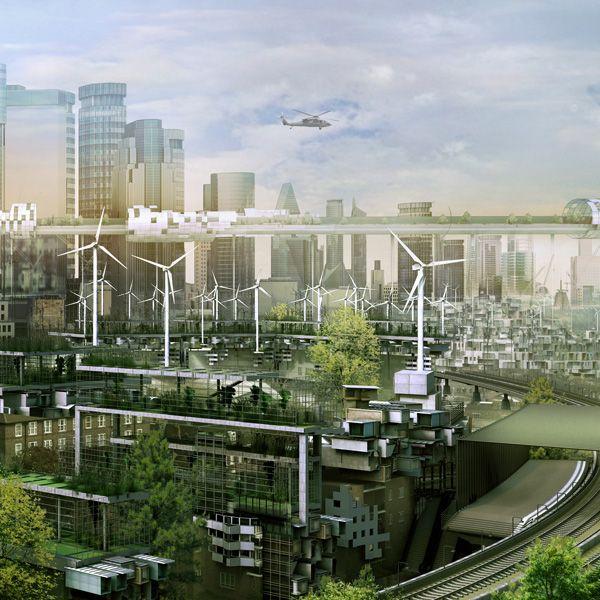 Les 34 meilleures images du tableau plan te terre speed for Architecture futuriste ecologique