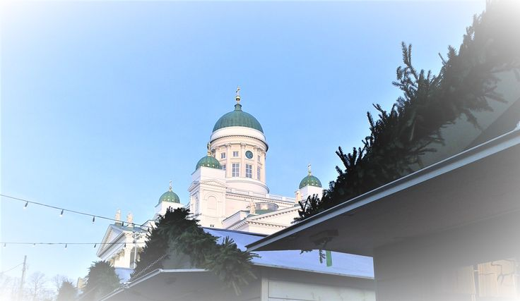 Helsinki Cathedral. ©WowHowFinland http://www.wowhowfinland.com/photogallery #HelsinkiCathedral #ChristmasInHelsinki #Finland
