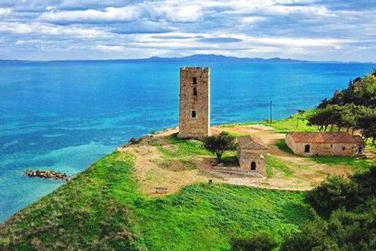 VISIT GREECE| Castle of Nea Fokea - #Chalkidiki #Macedonia #greekcastles #greece