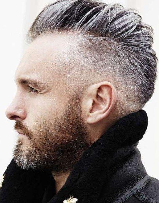 Haarstylingtipps Männer Frisuren bei Geheimratsecken  So bleibt der Haarausfall Ihr Geheimnis