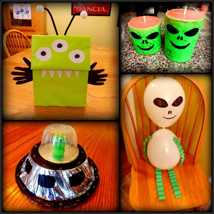 25 Best Ideas About Alien Crafts On Pinterest Space