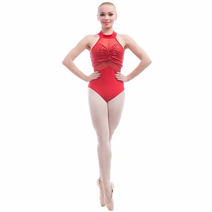 Adult ballet dance sequin and mesh leotard dance wear red leotards for ballet or Latin dance adult sizes S to XXL DFT001-in Ballet from Novelty & Special Use on Aliexpress.com | Alibaba Group