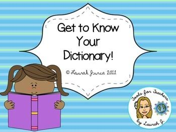 This colorful and informative presentation assists students in learning or reviewing their dictionary skills.Originally developed for my 6th-8th grade ESOL students, I have used this powerpoint with grades 3-8. Topics covered: Alphabetical Order Guide Words Dictionary Entries Multiple Meanings Parts of Speech