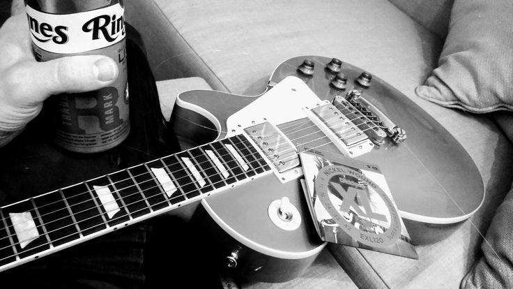 Photo by @kokowerk - gettin' ready for gig.   #rockmusic #hardrock #rockbands #rockandroll #rockmusicians #rockmusicphotographer #rockmusician #lespaul