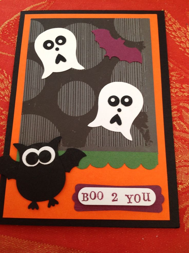 cards made with stamp in up punches | Owl Punch from Stampin Up | My World of Card Making