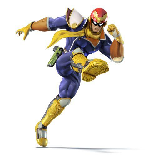 Captain Falcon is back!!! (F-Zero)