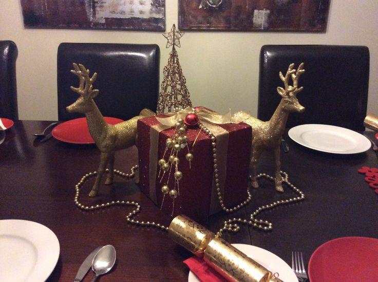 My Xmas table