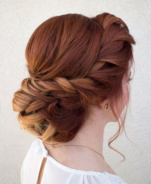 Ever Cute Braided Updo Prom Hairstyles 2016