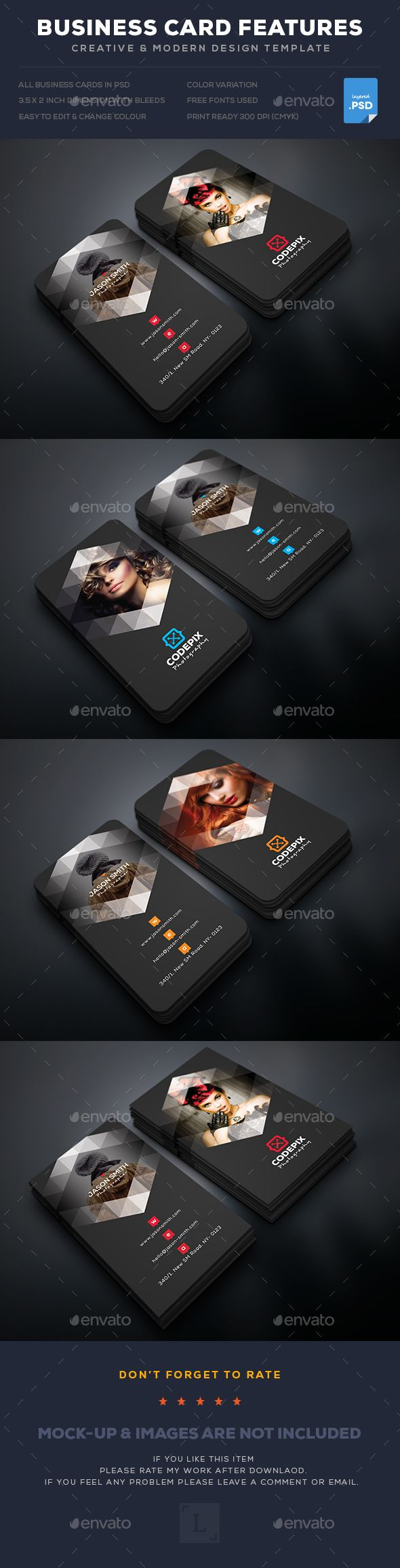366 best Business card Design images on Pinterest | Business card ...