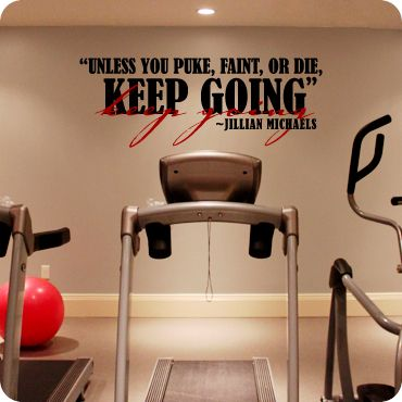 biggest loser gym wall quotes quotesgram