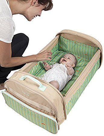 BabySun Lit de Voyage Simple Bed - Couffin Nomade Beige