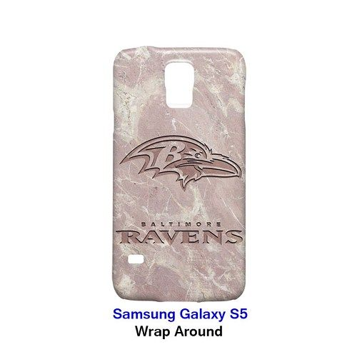 Baltimore Ravens Style Marble 2 Case for Samsung Galaxy S5