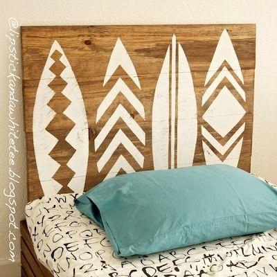 Surf Head Board.