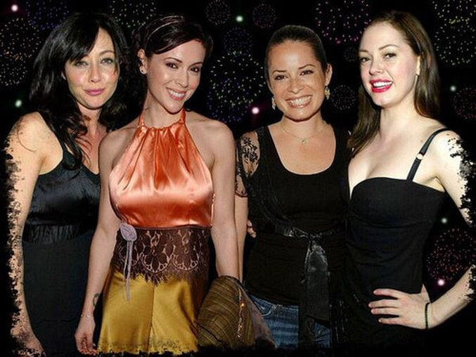Great photoshop! Shannon, Alyssa, Holly & Rose. | Charmed ...