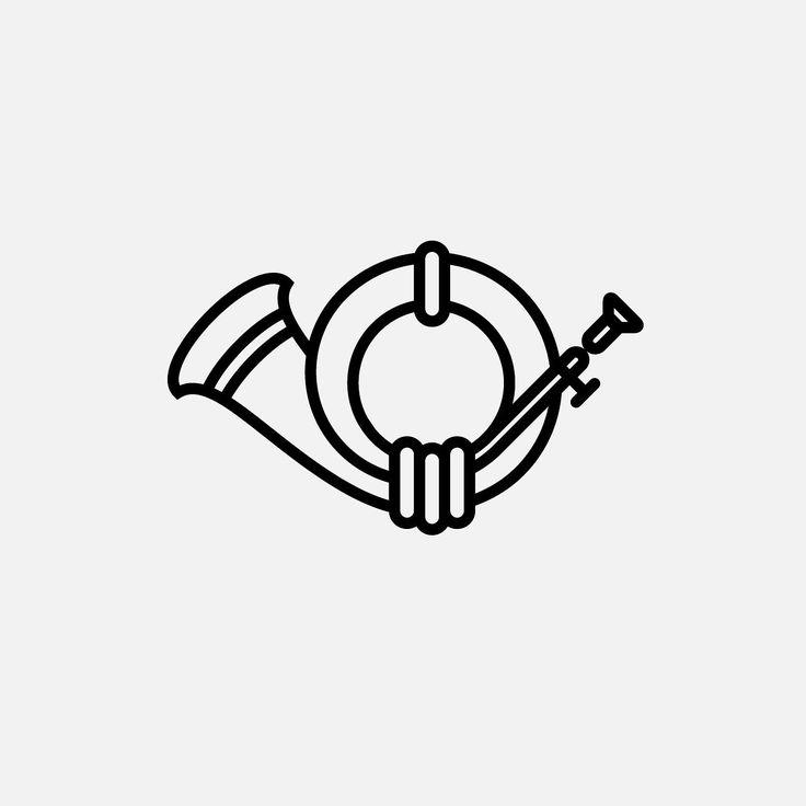 Post horn. #dribbble #icondesign #iconography #icons #ui #ux #pictogram #outline #iconaday #graphicdesign #behance #pictogramdesign #design #иконка #пиктограмма #дрибббл #дизайн #posthorn #horn #post #brass #instrument #mail #postman by evgeniyartsebasov