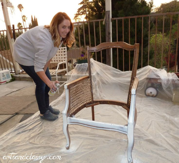 Cane Back Chair Diy Tutorial – From Drab to Fab in 10 Steps