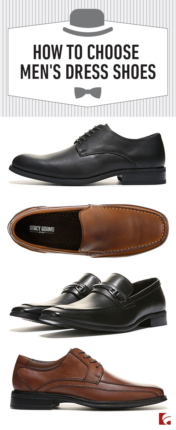 A man's dress shoes can define his style and pull his look together almost  effortlessly.