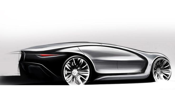 BMW Caizen Sketch Created by Samir Sadikhov