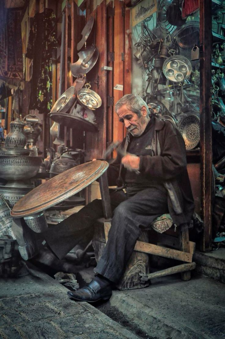 Coppersmith Bazaar Gaziantep Turkey