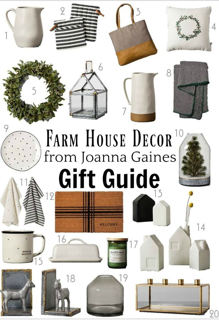 Chip And Joanna Gaines Farmhouse Style Decor Gift Ideas Fixer
