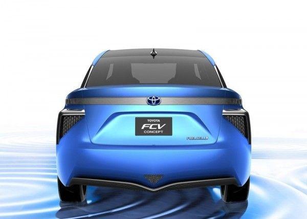 2013 Toyota FCV Concept Rear 600x428 2013 Toyota FCV Reviews