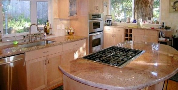 images of kitchens with islands 10 best images about pink granite countertops on 7498