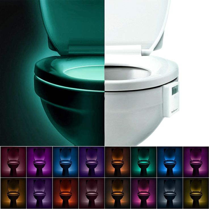 9 best dream led light sensor toilet images on pinterest bathroom toilet bowl night lightactivated by motion sensor and darknessbatteryincluded operated led bathroom lightgift for potty training kid children midnight aloadofball Choice Image