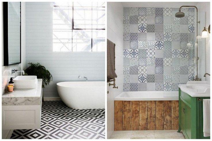 99 best carreaux de ciment carrelage mosa que images - Carreau de ciment salle de bain ...